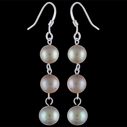 6aac5d235 E1478 Náušnice stříbrné, perly - nejlevnější na TrendyŠperky.cz